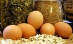 huevos y cereales